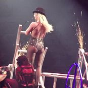 Britney Spears Hot In Glitter From Circus Tour HD Video