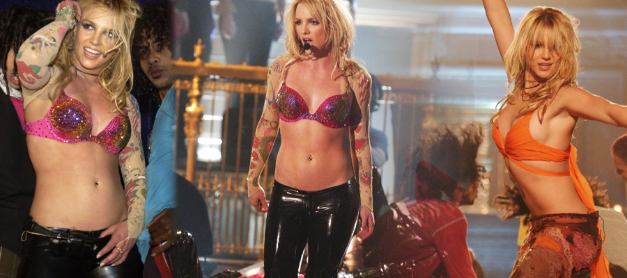 Britney Spears In The Zone Live Performance HD Videos