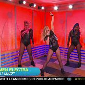 Carmen Electra I Like It Loud Live Sexy Leather Outfit HD Video