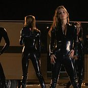 Eliza Dushku, Ali Larter And Shannon Elizabeth Sexy Latex Catsuits Video