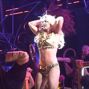 Britney Spears Sexy Golden Outfit From Femme Fatale HD Video