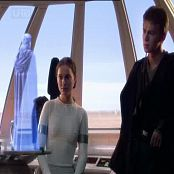 Natalie Portman As Padme Tight White Outfit Video
