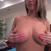 Nikki Sims Playing With Her Big Boobs Video