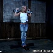 Kylie Wilde Hot Blonde Tied Up And Fucked BDSM Video