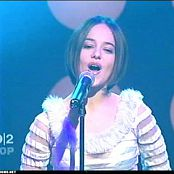 Alizee LAlize Live MTV 2 Sexy See Through Outfit Video