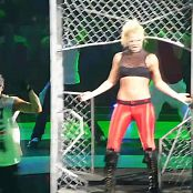 Britney Spears Toxic Sexy Red Spandex Live Circus Tour HD Video