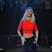 Christina Aguilera Genie In a Bottle Live Musica Si 1999 Video