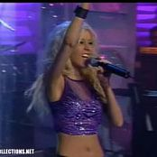 Christina Aguilera Genie In a Bottle Live Much Music Sexy Leather Pants Video
