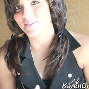 Karen Sexy Schoolgirl Show Off HD Video