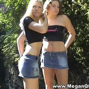 Tiffany Teen And MeganQT Hot Chicks On The Rocks Video