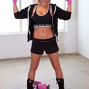 Nikki Sims Boxing Photo Set