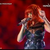 Rihanna Live Performance From Russia Video