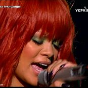 Rihanna Live Performance In Russia Sexy Black Leather Video