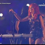 Rihanna Sexy Outfit Live From Russia Video