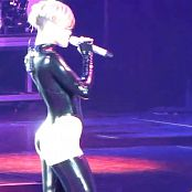 Rihanna Rude Boy Live Oberhausen Sexy Shiny Black Latex HD Video