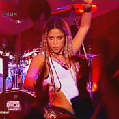 Shakira Whenever Wherever Live CDUK 2002 Video