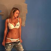 Nikki Sims Epic Painted Tits Tease And Photoshoot HD Video