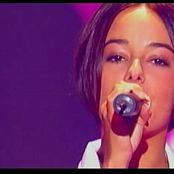 Alizee Gourmandises Live Hit Machine 2004 Video