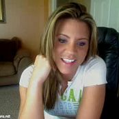 Blueyedcass Hot Pants and Green White Shirt Camshow Video