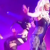Britney Spears Leathered Dominatrix From Piece Of Me Tour HD Video