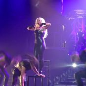 Britney Spears Do Something Live In Her Shiny Black Catsuit HD Video
