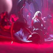Britney Spears Medley In Black Latex Catsuit Piece of Me Tour HD Video