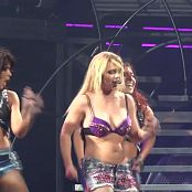 Britney Spears Purple Bra Live Femme Fatale Tour HD Video