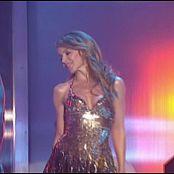 Kylie Minogue Spinning Around Live Sexy Golden Dress Video