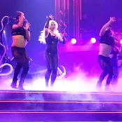 Britney Spears Sexy Black Catsuit Piece of Me Tour HD Video