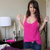 Bryci Pink Tank Top Solo Masturbation UHD Video