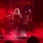 Britney Spears Freakshow In Black Latex Catsuit Las Vegas HD Video