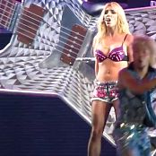 Britney Spears Pink Bra Riding A Giant Guitarr HD Video