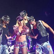 Britney Spears Sexy Biker Slut Femme Fatale Tour HD Video
