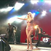 Lady Gaga Poker Face Live Glastonbury 2009 Sexy Latex Outfit HD Video