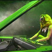 Lady Gaga Live Performance In Skin Tight Latex Catsuit HD Video