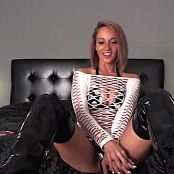 Nikki Sims Bikini And Shiny Latex Boots 20141007 Camshow Video