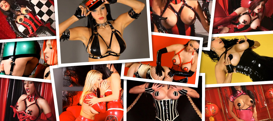 Sexy Babes In Kinky Fetish Outfits Shiny Latex Videos Megapack