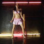 Cute Asian Babe Babyoil Trance Dance Video