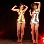 Cute Japanese Sluts In Shiny Outfits And Pantyhose Dance Video