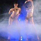 Very Sexy Japanese Sluts Oiled Up Bikini Dance Video