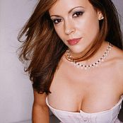Alyssa Milano High Resolution Pictures Pack