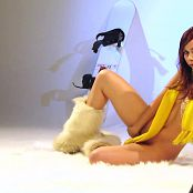Ariel Rebel Cute Ski Girl Photoshoot HD Video