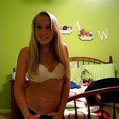 Cute Teen Blonde Strips Private Webcam Video