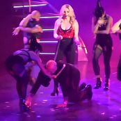 Britney Spears Freakshow POM Rehearsals Outfit HD Video