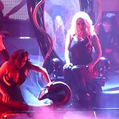 Britney Spears In Her Shiny Catsuit Freakshow HD Video