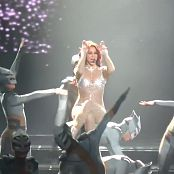 Britney Spears Womanized Live POM Sexy Sparkling Catsuit HD Video