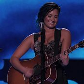 Demi Lovato Acoustic Medley Live Super Fanfest HD Video