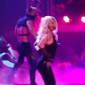 Britney Spears Her Freakshow In Latex From POM Tour HD Video