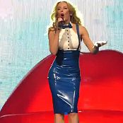 Kylie Minogue Into The Blue Live In Blue White Latex HD Video