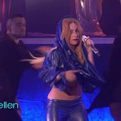 Lady Gaga Shiny Blue Latex Live Ellen HD Video